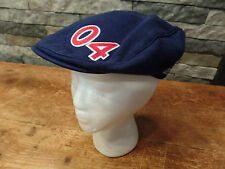 Team USA Olympic Hat Roots Flat Bill Cabbie #04 Cotton Blend Blue Size S Nice