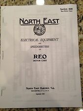 Reo North East Equipment Catalog 1915 16,17,18, 19, 20, 21