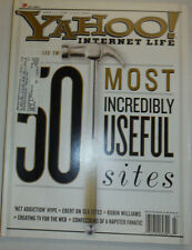 Yahoo! Magazine 50 Most Incredibly Useful Sites July 2000 032015R