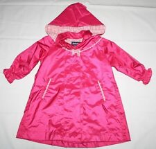GIRLS PINK COAT JACKET raincoat = ROTHSCHILD = SIZE 3T = wwfw