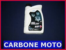 1 LITRO ANTIGELO ELF MOTO COOLANT 100% ORGANIC ANTI DEPOSITI - colore giallo