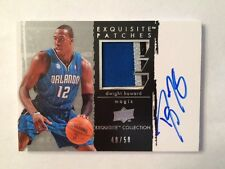 2009-2010 Dwight Howard Exquisite Patches Autograph with 4 Color Patch #40/50
