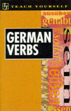 Teach Yourself German Verbs New Edition (TYL), By Robertson, Silvia,in Used but