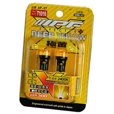 IPF EFFECTER + DEEP YELLOW LED WEDGE BULB 2400K T10-WB XP57 New Japan
