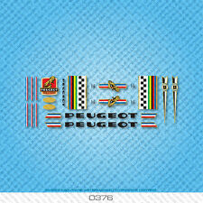 Peugeot Bicycle Decals - Transfers - Stickers - Set 376