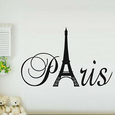 Beautiful Wall Sticker Paris Eiffel Tower Wall Stickers For Home Decor Vinyl