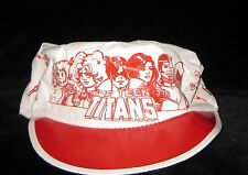 RARE VINTAGE Teen Titans Painters cap souvenir George Perez The New painter hat