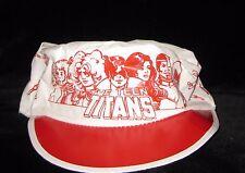 RARE VINTAGE Teen Titans Painters cap souvenir George Perez The New painter hat