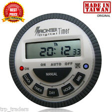 Frontier Digital Timer Multipurpose Programmable Timer TM619H2 - Made in Taiwan