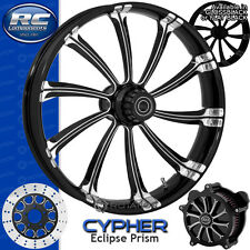 RC Components Cypher Prism Custom Motorcycle Wheel Harley Touring Baggers 21""