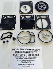 SeaDoo Carb Kit Mikuni Super BN 38 40 44 mm Carburetors