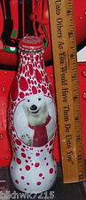 2009 WORLD OF COCA COLA  ATLANTA  POLAR BEAR  8 OUNCE COCA - COLA GLASS  BOTTLE