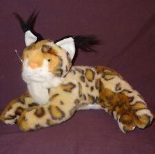"""Bobcat Plush Stuffed 8""""Animal Sugar Loaf Brown Tan White"""