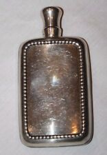 Beautiful Antique Sterling Silver Flask by Frank M. Whiting Co.