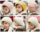 Baby/Toddler/Kids/Girl Beret Hat/ Fashion and Cute Winter  Beanie