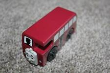 Thomas the Train Wooden Railway Bertie Bus Wood Gullane & Friends 2002 Toy Red