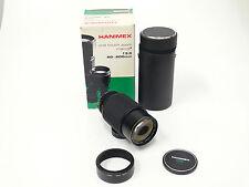 Hanimex für Minolta MD Sony 3,5/ 80-200 mm   Camera Kamera  Objektiv OVP  1365