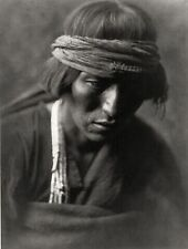 Edward S Curtis Indian Medicine Man Photo Portrait Native American Print Poster