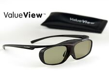 EPSON-Compatible ValueView® 3D Glasses. Rechargeable. ONE PAIR