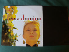 ANNA DOMINO: This Time - LP INNER SLEEVE 1987 LES DISQUES DU CREPUSCULE TWI 777