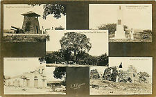 CUBA 5 DIFFERENT VIEWS FAMOUS LANDMARKS CIRCA 1907-18 RPPC P/C