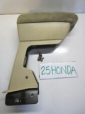 1990-1991 Honda Accord Coupe Sedan Armrest Tan Ultra Rare OEM JDM CB CB7