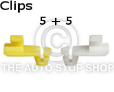 Door lock Rod Clip 4 MM Renault Trafic/Twingo/Wind/Zoe etc 1277re Quantity 5 + 5