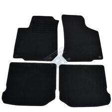4 TAPIS SOL MOQUETTE NOIR SUR MESURE SEAT LEON 1M 1999-2005 1.8 T 1.9 TDI SDI
