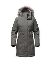 NWT THE NORTH FACE Women's Arctic Down Parka Coat Grey Heather Sz L $299