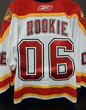 RARE NHL Reebok Authentic Florida Panthers 2006 Rookie Jersey Size 56 Goalie