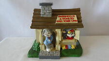 Warner Brothers 1994 Bugs Bunny and Sylvester and Tweety Bird House Bank #B781