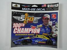 2016 Indianapolis 500 Alexander Rossi 100th Champion Decal Collector Lapel Pin