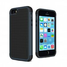 Cygnett Workmate Evolution Tough iPhone 5 / 5S Case Cover - Black/Grey Shock Res