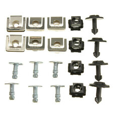 Set Undertray Guard Engine Under Cover Fixing Clips & Screw KIT For AUDI A4 A6