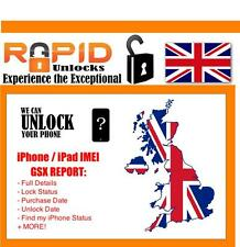 iPHONE iPAD NETWORK WORLDWIDE CHECKS FAST 24 HOUR SERVICE WITH BLACKLIST CHECK