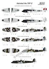 Authentic Decals 1/72 Heinkel He 70