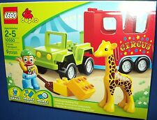 LEGO 10550 CIRCUS TRANSPORT - DUPLO new in factory sealed box
