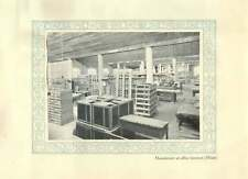 1920 Italy Milan Manufacture Of Office Furniture
