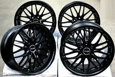"18"" CRUIZE 190 STAGGERED MATT BLACK DEEP DISH WEIGHT RATED 18 INCH ALLOY WHEELS"