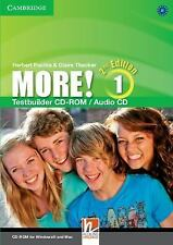 More! Level 1 Testbuilder CD-ROM/Audio CD, Cassidy, Hannah, Very Good condition,
