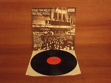 The World Of Music Hall with the great stars of the thirities : Vinyl Album