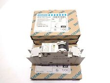 Siemens 5SJ4 103-7HG41 Circuit Breakers 3A 1P 240V. Lot of 4