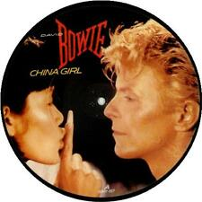 "EX! DAVID BOWIE CHINA GIRL 7"" VINYL PICTURE PIC DISC"