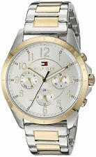 Tommy Hilfiger Original 1781607 Women's Two Tone Stainless Steel Watch 36mm