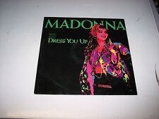 SINGLE  MADONNA  DRESS YOU UP  **EXC VINYL**   819