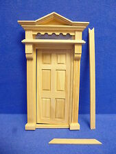 12th  scale   Dolls House DIY  Victorian Front Door  TC