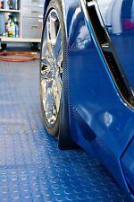 ACC 2014-16 Corvette C7 Mud Guards with Carbon Fiber Vinyl Wrap Front & Rear 4PC