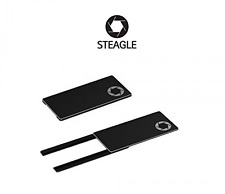 STEAGLE (Black) Laptop Webcam Privacy Shield Cover for notebook laptop camera