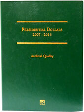 Littleton Coin Folder LCF35 Presidential Dollar 2007-2016