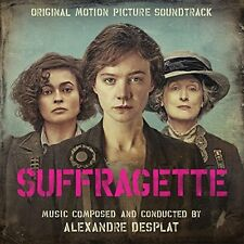SUFFRAGETTE :Original Soundtrack Score) Alexandre Desplat  (CD) Sealed